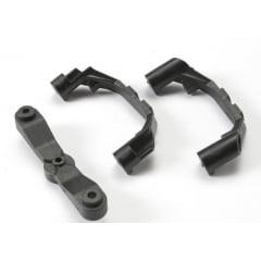 TRAX 5343X - Mount, steering arm/ steering stops (2)