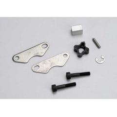 TRAX 5565 - Brake pads (2)/ brake disc hub/ 3X15 CS (partially threaded) (2)/2mm pin (1)/ 4mm e-clip (1)