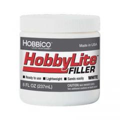 HOBBICO - HOBBYLITE WHITE FILLER 8 OZ HCA R3400
