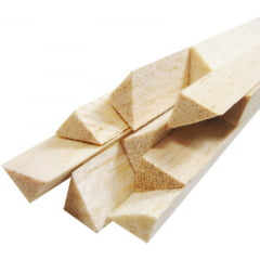 MB - VARETA TRIANGULAR DE MADEIRA BALSA (900X12MM)