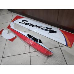 Aeromodelo KIT ARF Serenity Asa Alta Treinador