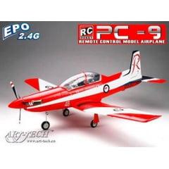 AEROMODELO PILATUS PC-9 RTF - ELETRICO - ENV.: 850MM