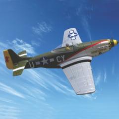 PKZ 2200 - Aero Eletrico P-51D Parkzone BL DSM RTF 39