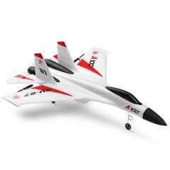 WlToys - Avião de Controle - RTF - 3CH -SU27 - 2.4GHz