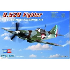 FRENCH D.520 FIGHTER 1/72