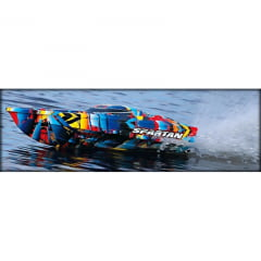 "Spartan Brushless 36"" Race Boat W TSM Rock N' Roll (TRA570764T4)"