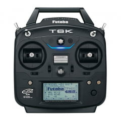Futaba - Rádio Futaba 6K 2.4GHz T-FHSS - Avião - Com Telemetria - Sem servos - cód. antigo FUT K6100)