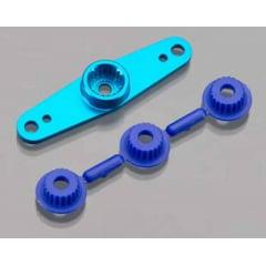 DURATRAX - DTXM5020 Braço de servo em Alumínio duplo azul