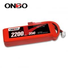 ONBO - Bateria Lipo Onbo 3s 2200mah 35c 11.1v - LANCAMENTO