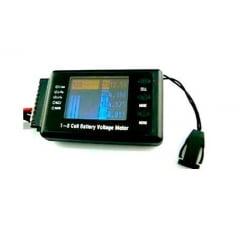 PO8ER - CELLLOG8S Medidor Monitorador Células LiPo/LiFe/NiM