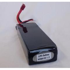 BATERIA 3400MAH 35C 11.1V HD CASE DEANS