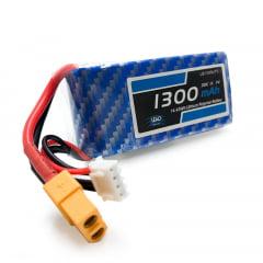 Bateria Lipo - 11.1V - 3S - 1300mAh - 30C/60C - XT60