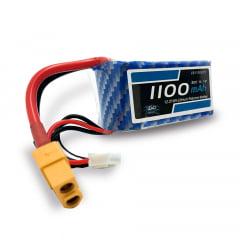 LEAO - Bateria Lipo - 11.1V - 3S - 1100mAh - 30C/60C - XT60