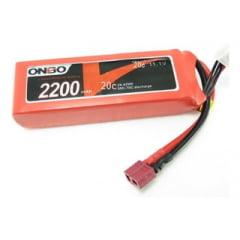 ONBO - Bateria Lipo Onbo 3s 2200mah 20c 11.1v - LANCAMENTO
