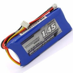 TURNIGY - Bateria Lipo 1450mah 3s 11.1v Rádios Futaba, Jr