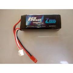 ZEE - BATERIA LIPO 850MAH 30C JST 11.1V