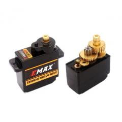 Micro Servo EMAX ES08MA II 12g Metálico 7MS58