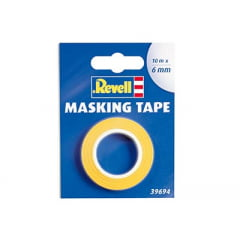 Fita adesiva para máscara de pintura (Masking Tape) - 6mm