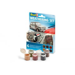 REVELL Jogo de pigmentos (6) para ambientação e detalhamento 39066