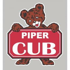 Camiseta Piper J3 CUB – Branca