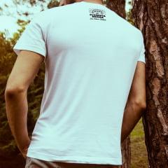 Camiseta T-SHIRT I Love the Music da Marca Floresta Negra Disco Virtual Cor Branca