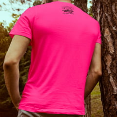 Camiseta T-SHIRT da Floresta Negra Disco Virtual Pink