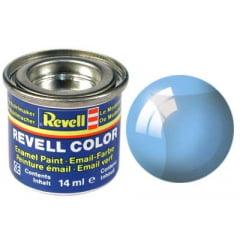 Tinta Revell para plastimodelismo - Esmalte sintético - Azul transparente - 14ml 32752