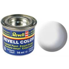 Tinta Revell para plastimodelismo - Esmalte sintético - Branco fosco - 14ml 32105