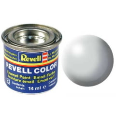 Tinta Revell para plastimodelismo - Esmalte sintético - Cinza claro silk - 14ml 32371