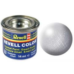 Tinta Revell para plastimodelismo - Esmalte sintético - Prata - 14ml 32190