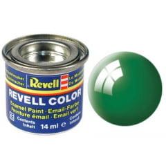 Tinta Revell para plastimodelismo - Esmalte sintético - Verde esmeralda - 14ml 32161