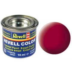 Tinta Revell para plastimodelismo - Esmalte sintético - Vermelho carmim seda - 14ml 32136