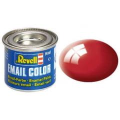 Tinta Revell para plastimodelismo - Esmalte sintético - Vermelho Ferrari - 14ml 32134