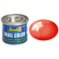 Tinta Revell para plastimodelismo - Esmalte sintético - Vermelho transparente - 14ml 32731