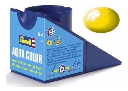 Revell 36112 Tinta Amarelo Brilhante Acrílica 18 ml