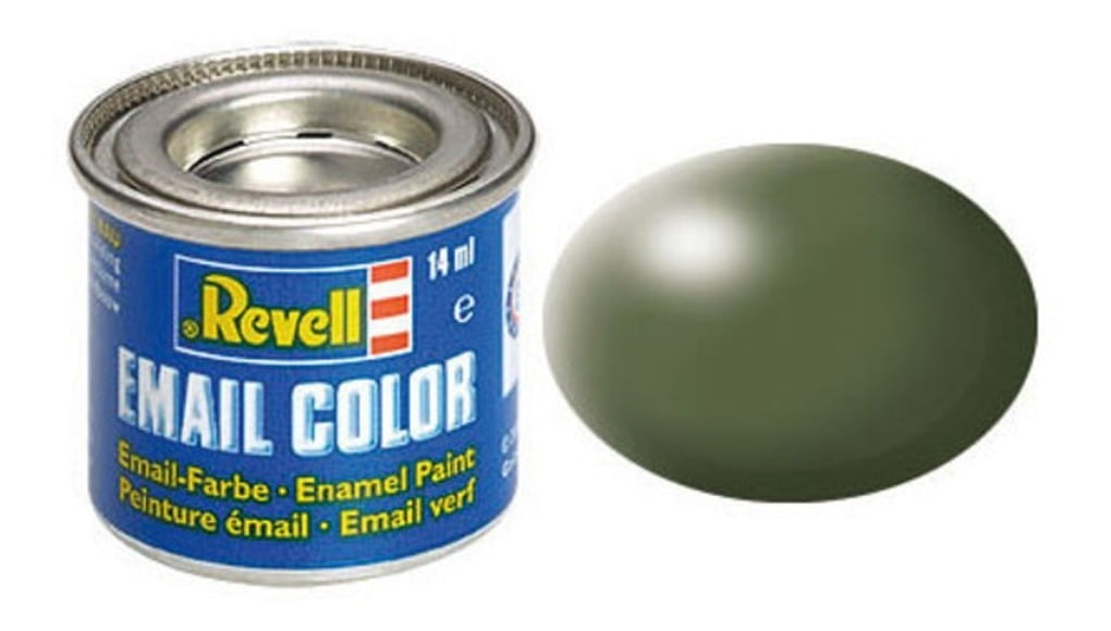 Tinta Enamel Olive Green Fosco 14ml Revell 32361