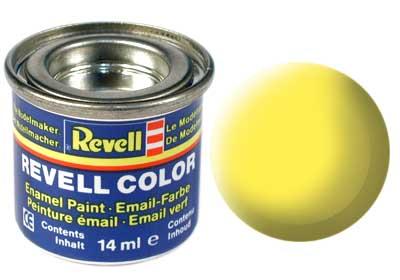 Tinta Revell para plastimodelismo - Esmalte sintético - Amarelo fosco - 14ml 32115