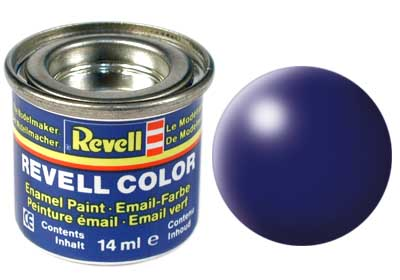 Tinta Revell para plastimodelismo - Esmalte sintético - Azul Lufthansa silk - 14ml 32350