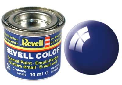 Tinta Revell para plastimodelismo - Esmalte sintético - Azul ultramarino (azulão) - 14ml 32151