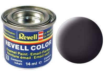 Tinta Revell para plastimodelismo - Esmalte sintético - Cinza escuro (Antracita) - 14ml 32109