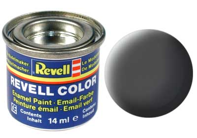 Tinta Revell para plastimodelismo - Esmalte sintético - Cinza esverdeado - 14ml 32167