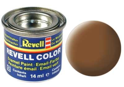 Tinta Revell para plastimodelismo - Esmalte sintético - Terra escuro - 14ml 32182