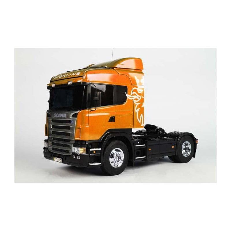 TRUCK - Tamiya 1/14 Scania R470 Highline Orange Edition Kit
